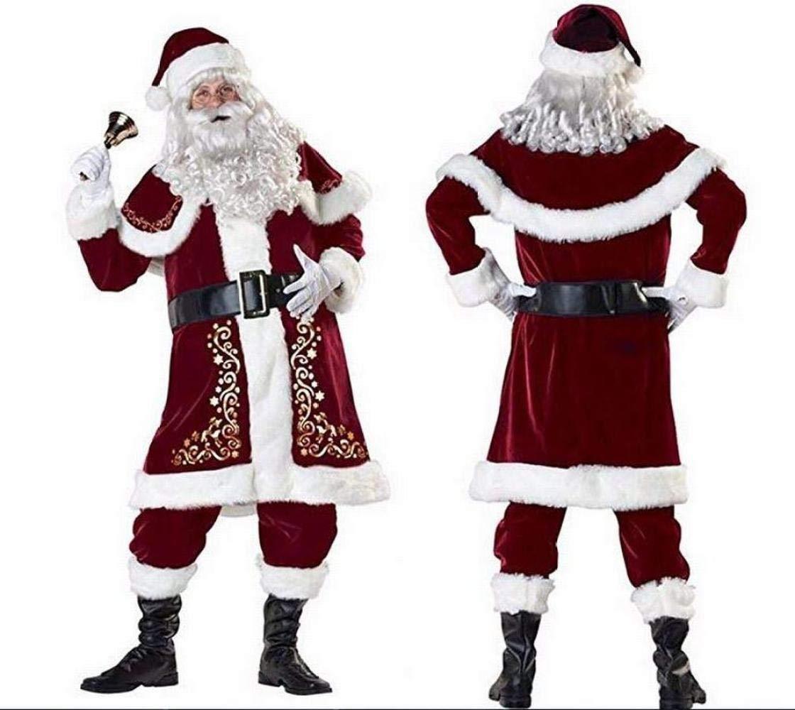 GZ Herren Weihnachtsmann Cosplay Kostüme Weihnachtskostüme Kostüme
