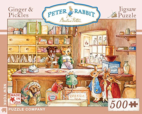 Peter Rabbit Ginger & Pickles - 500 Piece Jigsaw Puzzle