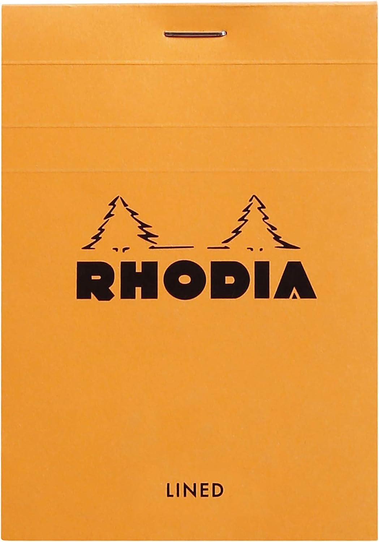 value bundle Four Rhodia coloR No.12 A7 notepads in four different colours