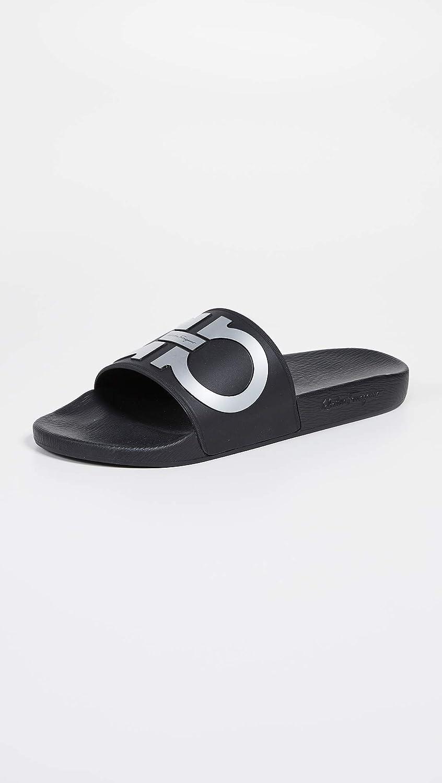 29d55567048a Amazon.com  Salvatore Ferragamo Men s Groove 2 Slide Sandals  Shoes