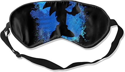 Amazon Com Sleeping Mask 100 Blackout Sonic The Hedgehog Silhouette Sleep Mask Night Masks Super Smooth Eye Mask Health Personal Care
