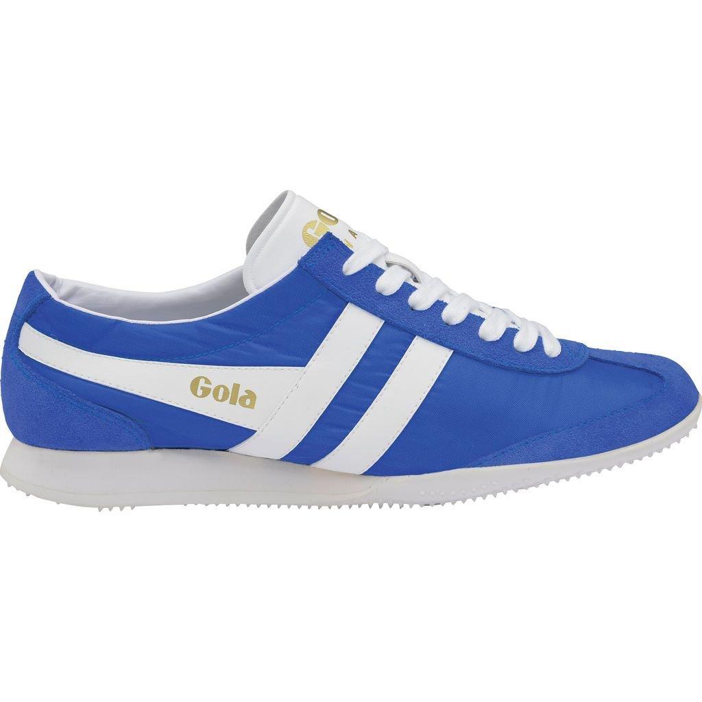 Gola Women's Wasp Sneaker,Reflex Blue/White Nylon/Suede,US 7 M