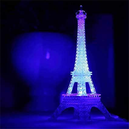 Eiffel Tower Nightlight LED Lamp