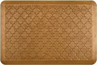product image for WellnessMats Estates Collection Essential Series Copper Leaf Trellis 3 x 2 Foot Anti-Fatigue Mat