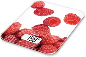 Digital Kitchen Scale Beurer KS 19 berry 5 Kg White Red