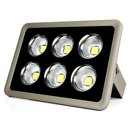 LED Flutlicht 300W cob Baustrahler Super Hell Strahler 21000LM ...