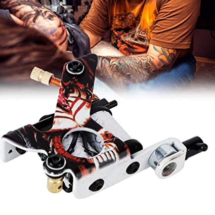 Rotekt 10 Warps bobinas patrón esqueleto tatuaje ametralladora ...
