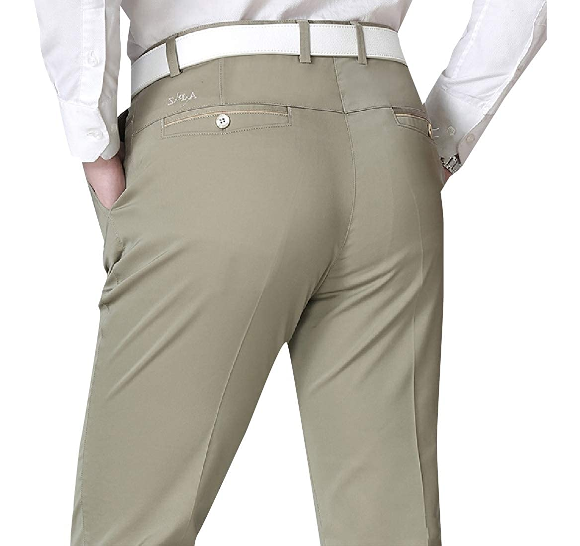 YUNY Mens Hi-Waist Baggy Straight Oversize Jogger Pant Trousers 2 3XL
