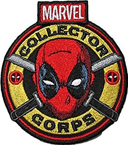 DEADPOOL SUPERHERO SUPER HERO MARVEL COMICS EMBROIDERY IRON ON PATCH