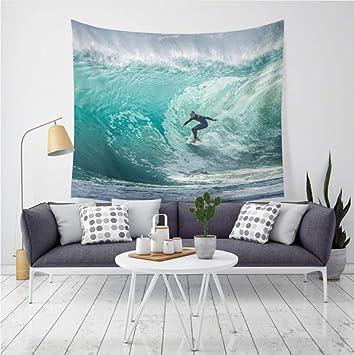 Océan mer Tapisserie Tenture Murale Tapisserie Serviette Yoga Tapis Décor