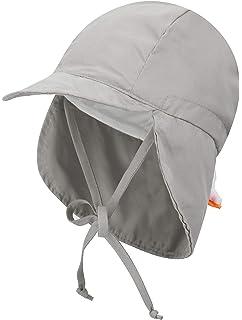 b6bfd0d7f Amazon.com: i play. Toddler Flap Sun Protection Swim Hat, Khaki, 2T ...