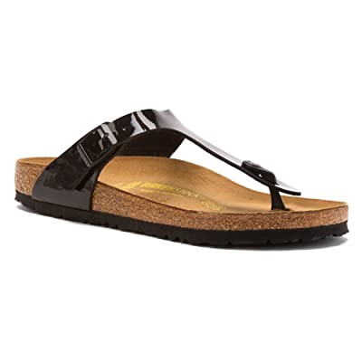 Birkenstock Gizeh Bs Patent Leather Sandal | Shoes