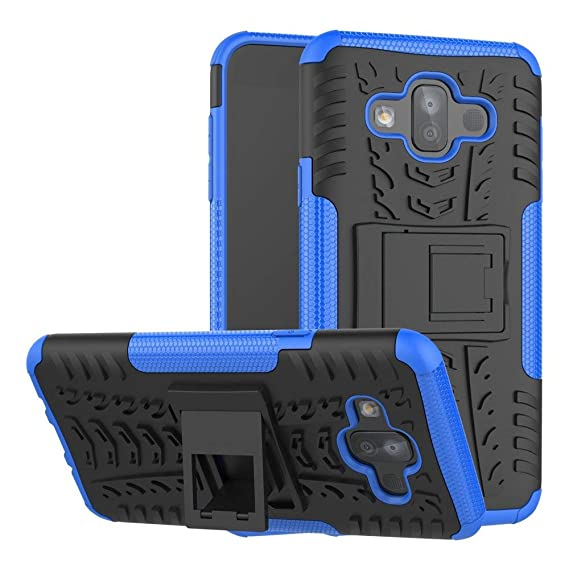 super popular 66fcf 96506 Galaxy J7 Duo Case, Boythink Double-Layer Hybrid Shock Resistant Armor with  Kickstand Full-Body Protective Case Cover for Samsung Galaxy J7 Duo 2018 ...