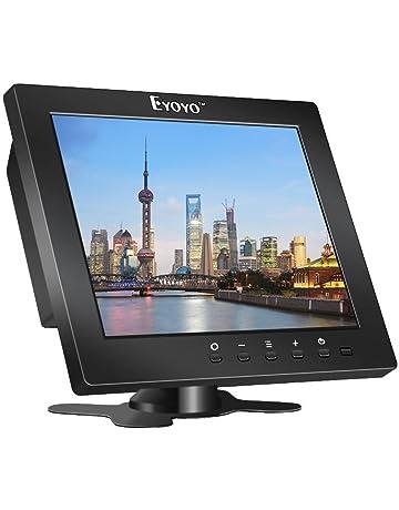 Eyoyo S801C 8 Pulgadas Monitor TFT LCD Pantalla (4: 3,1204x768, 250cd