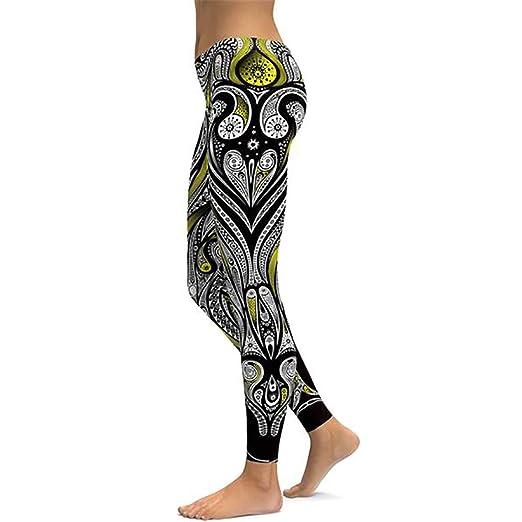 5201cd696b Amazon.com: Fitness Yoga Pants Women Unique Leggings Workout Sports ...