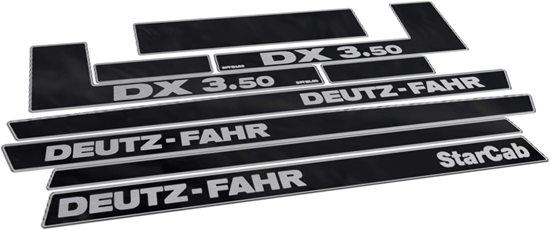 Generisch Deutz Fahr Dx 3 50 Decals Set Auto