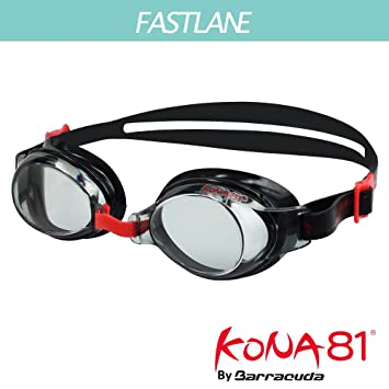 9cc16316e3 KONA81 K713 Optical Swim Goggle ( 71395) – Corrective Lenses Adjustable  Nose Pieces for