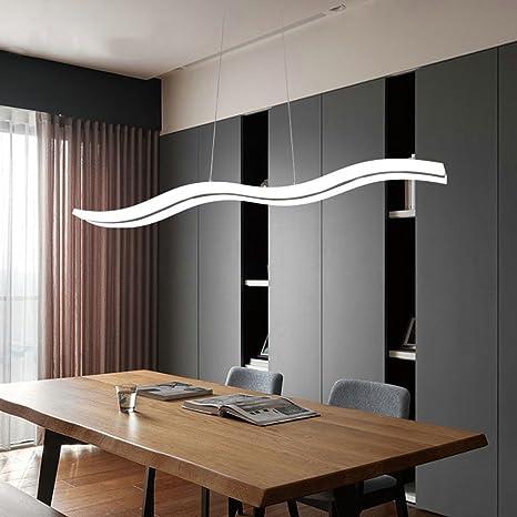 Araña de luces LED Moderna sala de estar Techo creativo Lámpara de ...