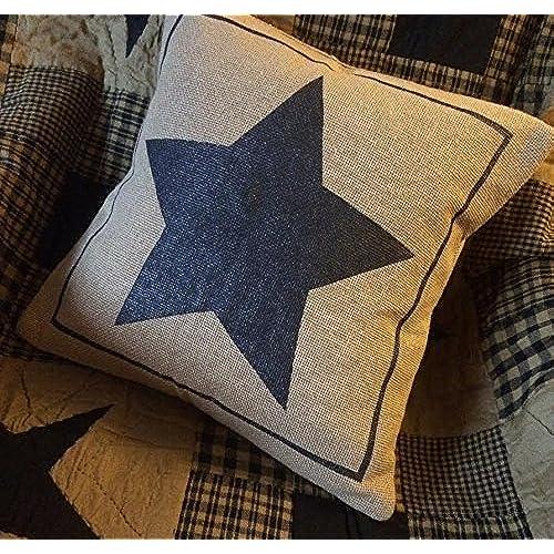 Primitive Pillow Covers Amazon Delectable Primitive Pillow Covers