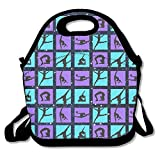Women And Child Gymnastics Game Freezable Lunch Bag With Zip Closure