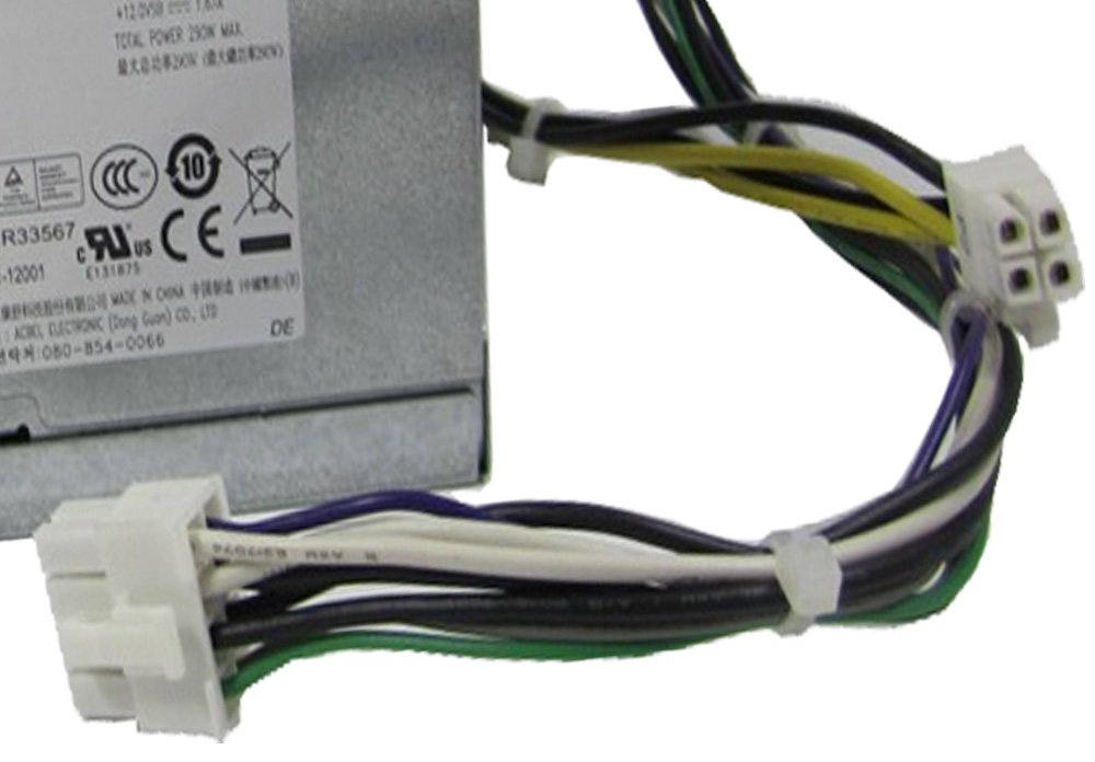 Amazon.com: Dell Optiplex 3020 7020 9020 290W ATX Power Supply RVTHD ...