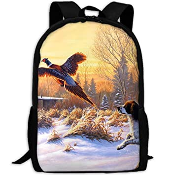 8daca07f6389 Amazon.com | Adult Travel Hiking Laptop Backpack Duck Winter ...