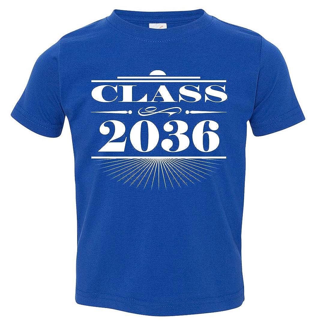 Tenacitee Babys Art Deco Class of 2036 Shirt