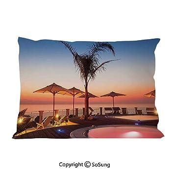 Amazon.com: Juego de 2 fundas de almohada con diseño de ...