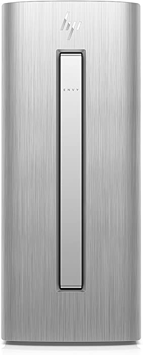HP Envy 750 Series Desktop Tower (Intel Quad Core i5-6400 Processor, 12GB DDR4 RAM, 1TB HDD+ 128GB SSD Hybrid Drive, AMD R7 450 Graphics 2GB, Bluetooth, DVD, HDMI, 802.11ac, Windows10)