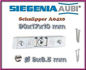 H/ülse Schrauben SI Siegenia Balkont/ür Terrassent/ür Schn/äpper A1360 T/ürschn/äpper inkl