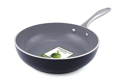 GreenPan CW000193-003 Milan 3D - Sartén (aluminio, para inducción, 24 cm