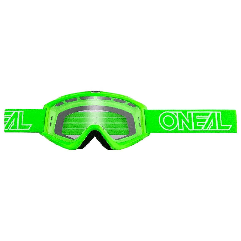O'Neal B-Zero Goggle Moto Cross MX Brille Downhill DH Enduro Motorrad, 6030-11, Farbe Grü n O' Neal 6030-115O