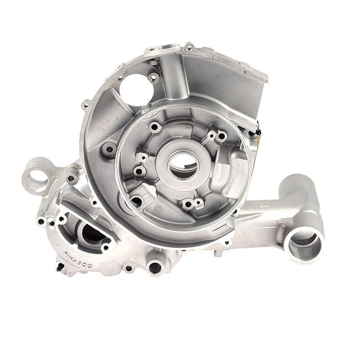Carcasa del motor para Vespa PX 200 pinasco Slave Chasis con membrana einlass: Amazon.es: Coche y moto