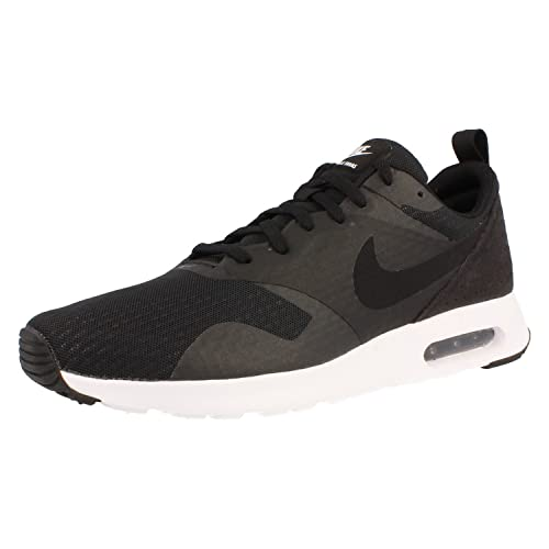 detailed look 29410 74e01 Nike AIR MAX Tavas Essential 725073 001 Black Black-White  Buy Online at  Low Prices in India - Amazon.in