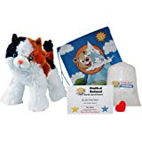 """Make Your Own Stuffed Animal """"Cali the Calico Cat"""" - No Sew - Kit With Cute Backpack!"""