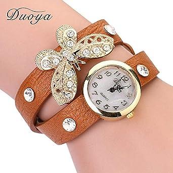 mujeres Relojes, moeavan Mujer Pulsera Relojes räumungs Relojes Mujer Mujer en Oferta Económica piel Reloj