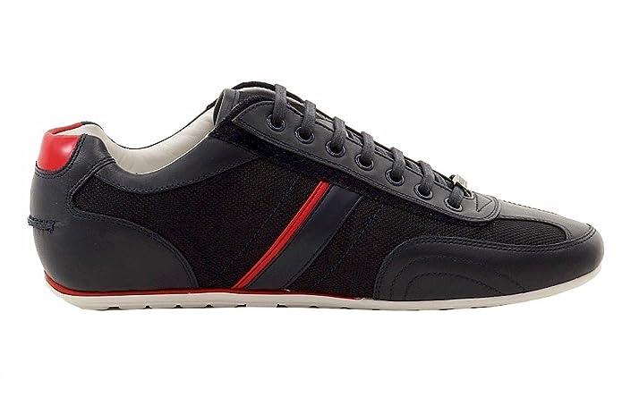 7c34167be9 Amazon.com  Hugo Boss Men s Thatoz Fashion Dark Blue Sneakers Shoes Sz  12   Shoes