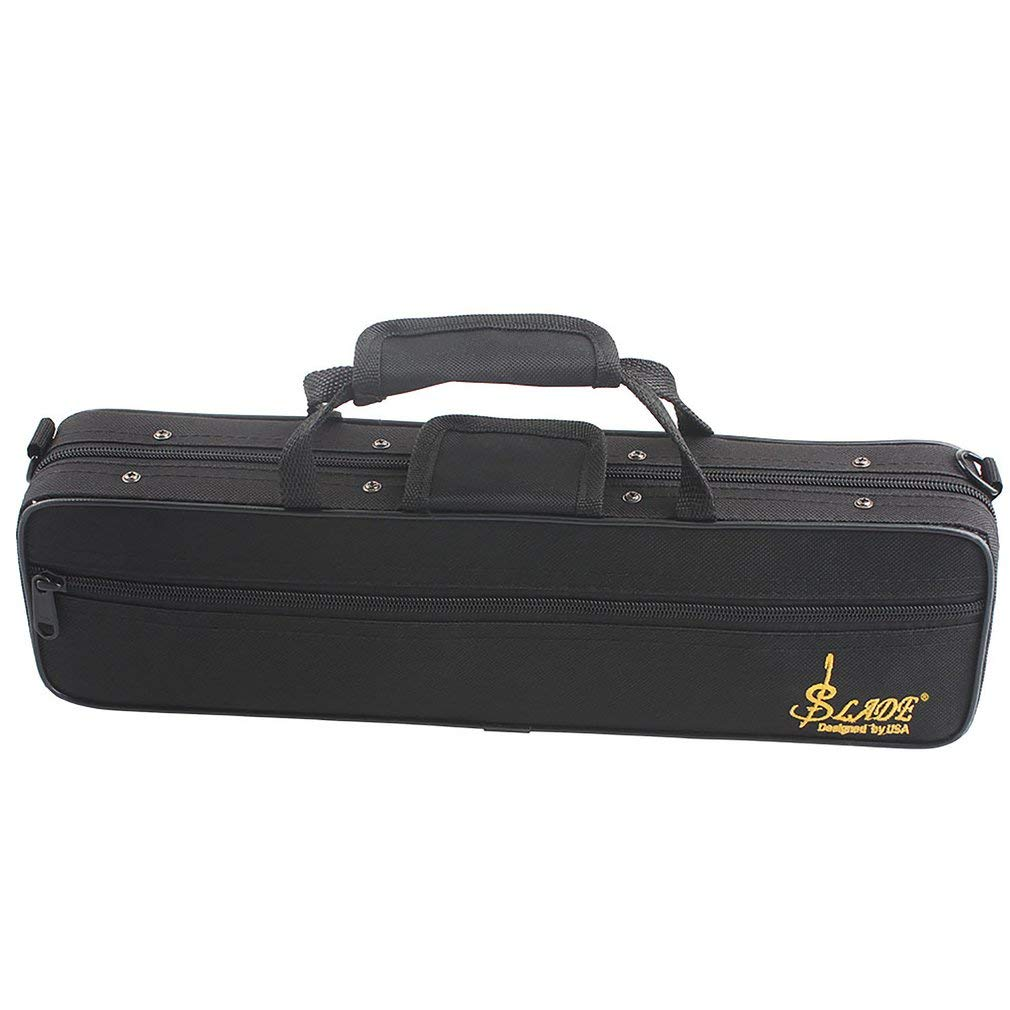Yao Flute Case Gig Bag Backpack Box Water-Resistant 600D Foam Cotton Padding Strap