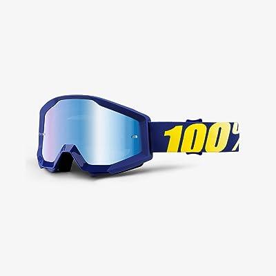 100% unisex-adult Speedlab (50410-238-02) STRATA Goggle Hope-Mirror Blue Lens, One Size: Automotive