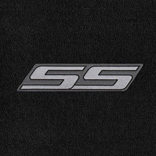 Lloyd Mats - Velourtex Black Front Floor Mats For Chevrolet HHR SS 2006-11 with Silver SS Applique