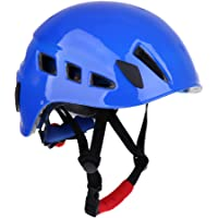 Homyl Casco de Escalada Roca para Ciclista Montañismo Kayak Rescate Trabajos Aéreos Duradero
