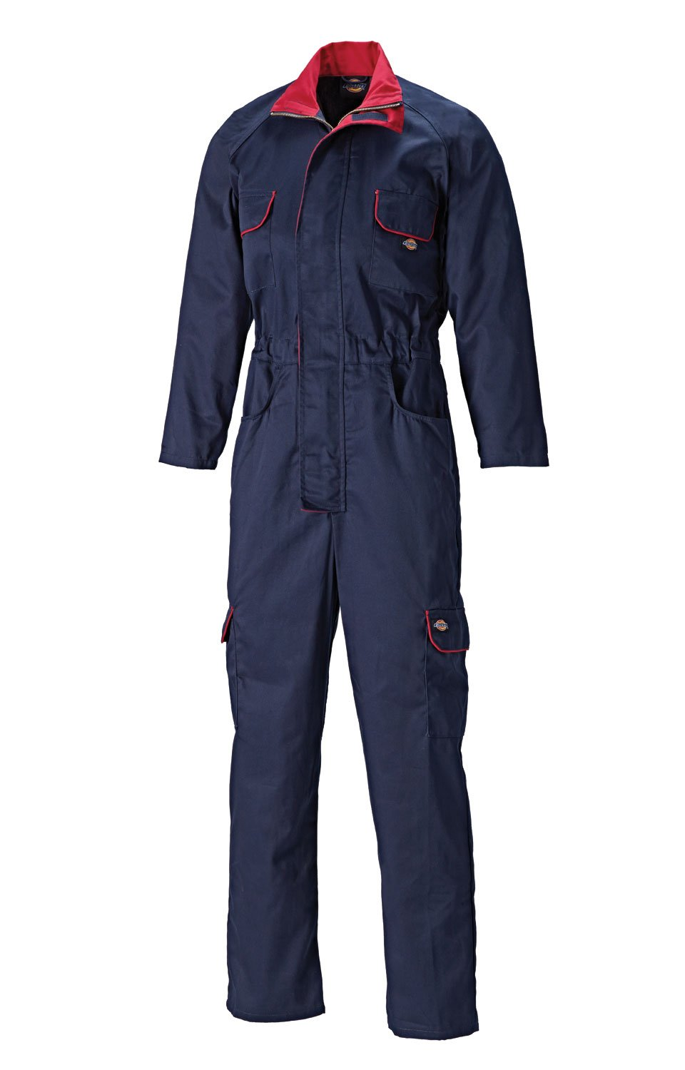 Dickies Ladies Zip Front Overalls - 12