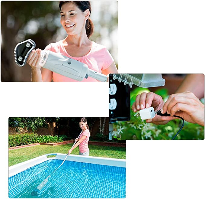 Intex 28620NP - Limpiafondos manual para piscinas desmontables y ...