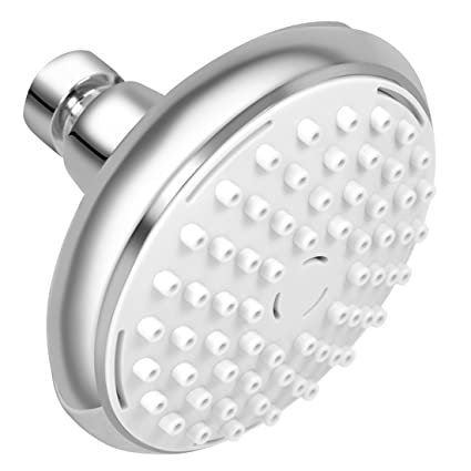 Rain Shower Head Removable Water Restrictor High Pressure Air