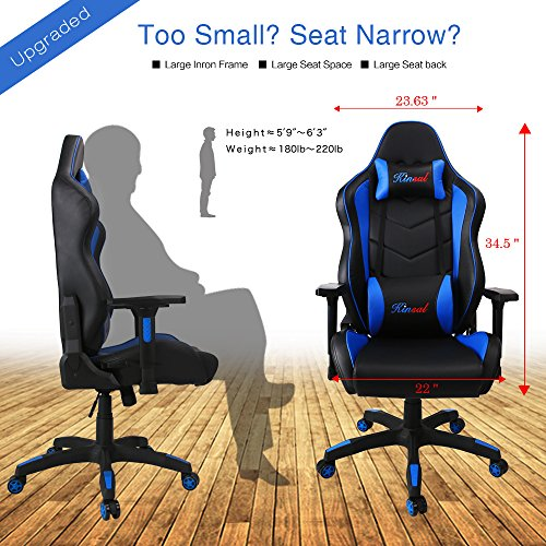 friday promotion kinsal large size racing chair pc gaming chair high