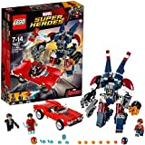 LEGO Super Heroes 76077 - Set Costruzioni Iron Man: l'Attacco di Detroit Steel