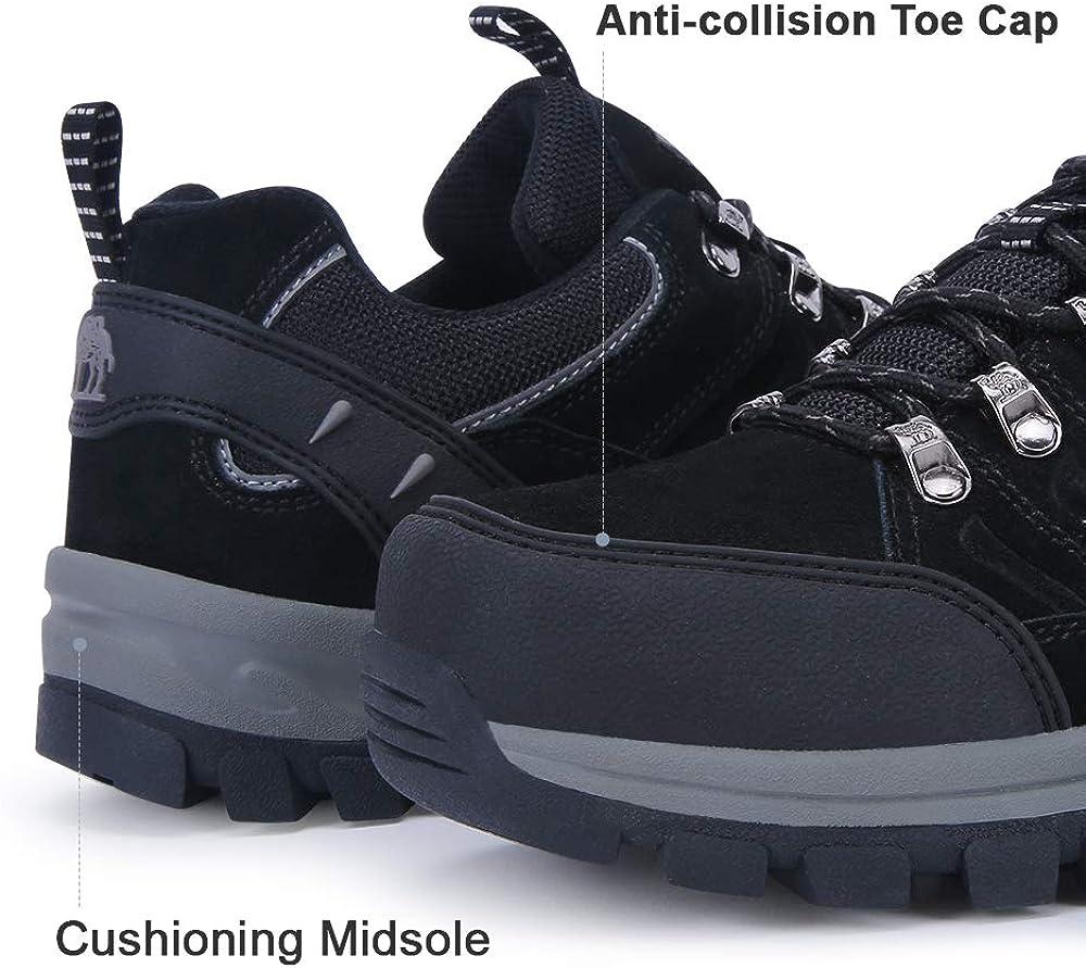 CAMEL CROWN Chaussures de randonn/ée pour Femmes Bottes en Mailles l/ég/ères antid/érapantes Trail Running Sneaker
