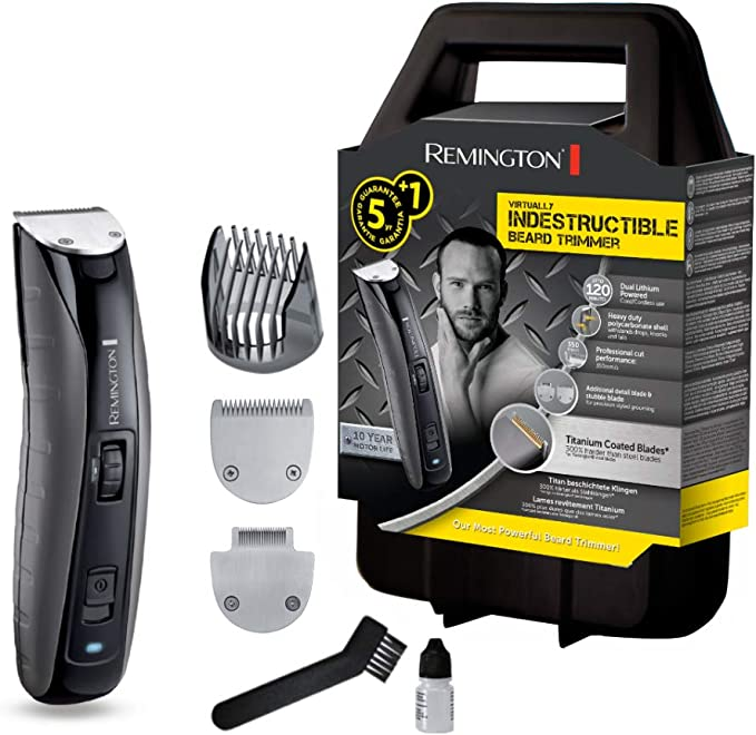 Remington MB4850 Virtually Indestructible - Recortador de barba ...