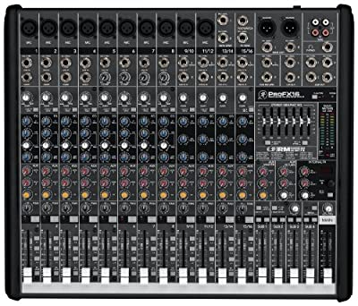 Mackie ProFX16 Compact 4-Bus Mixer with USB & Effects by Mackie