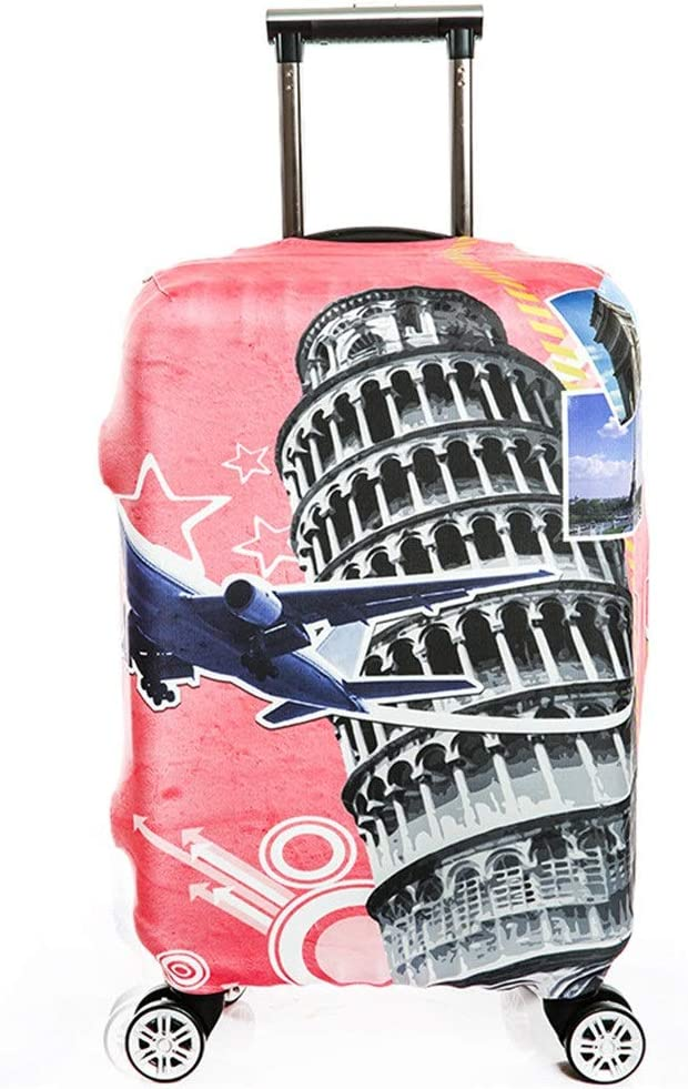 DHUYUN-Bag Luggage Cover Protector 18//24//28//32 Inch Painting Travel Luggage Protector Elastic Baggage Covers for Carry-on and Checked-in Washable Baggage Covers 18-21 Color : B, Size : S